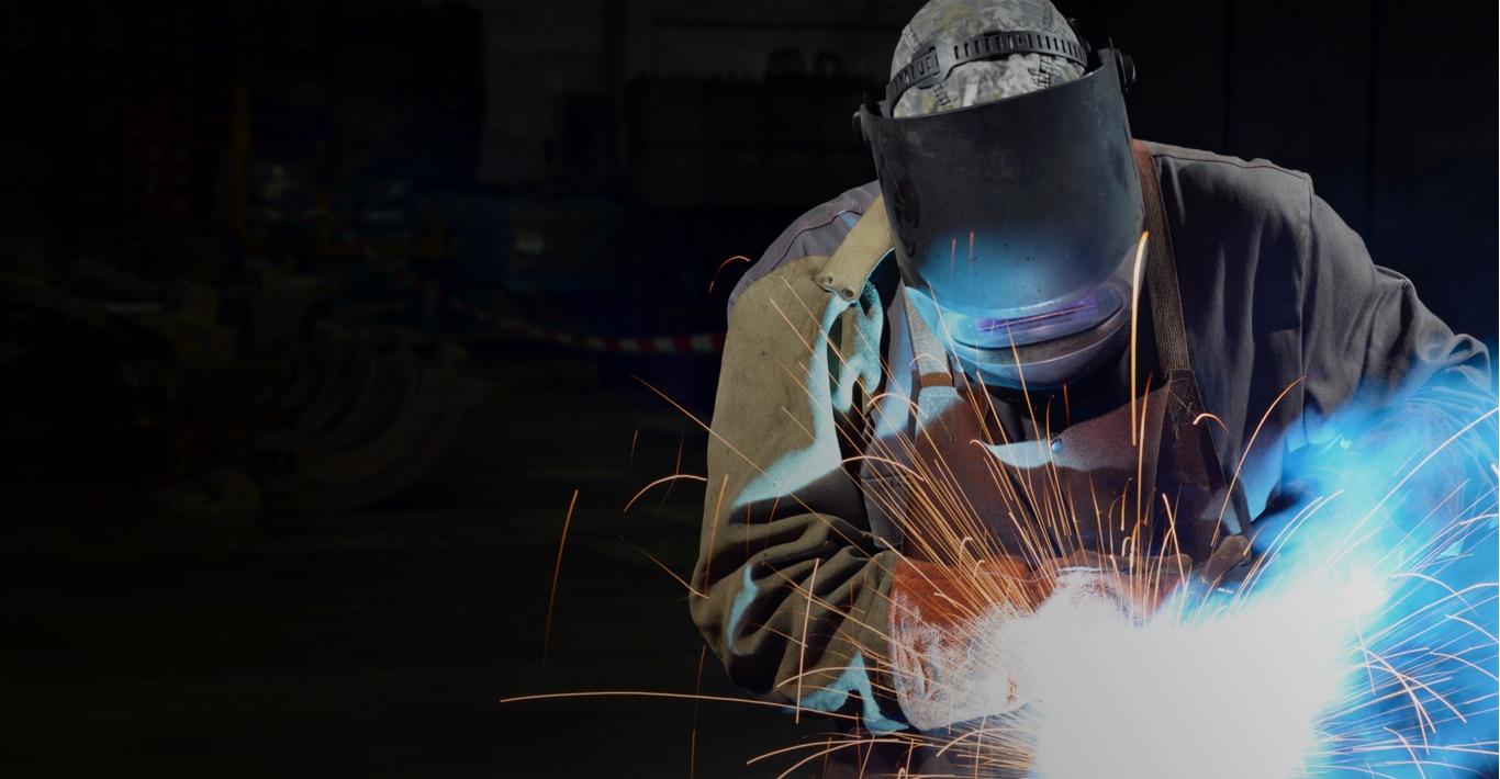 Photographie du travail dans l'industrie métallurgique.
