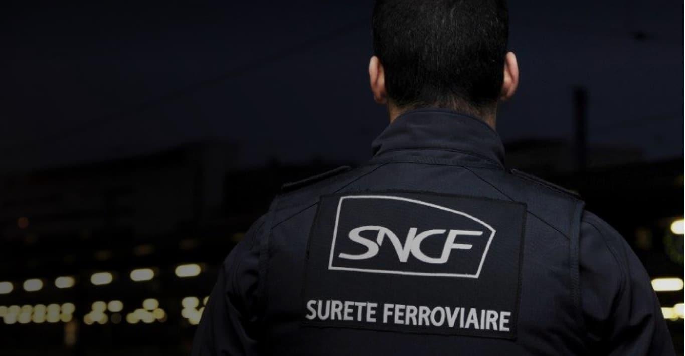 Photographie de la sûreté ferroviaire SNCF illustrant la sécurité publique.