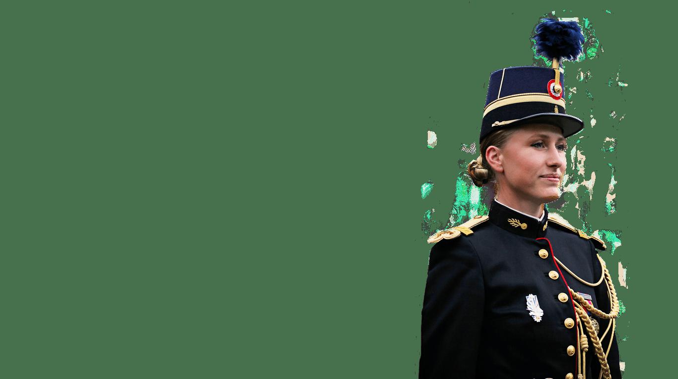 Photographie d'un uniforme de prestige illustrant l'expertise du Groupe Marck.