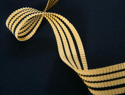 Photographie d'un ruban pour illustrer la marque BBA.