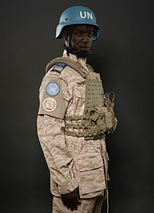 Photographie de l'uniforme du Burkina Faso.