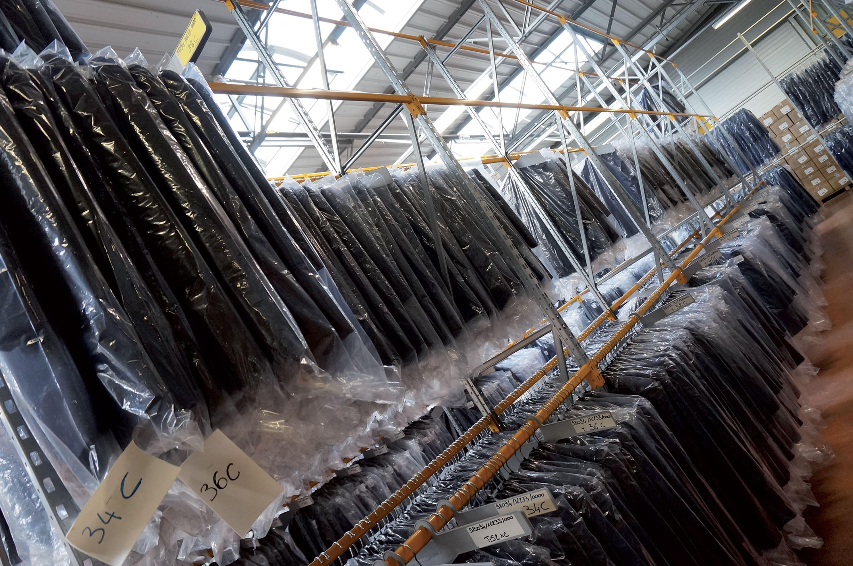 Photographie d'un entrepôt logistique