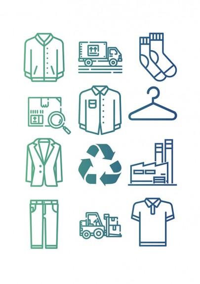 Vignette illustrant le service de recyclage des textiles usagés.