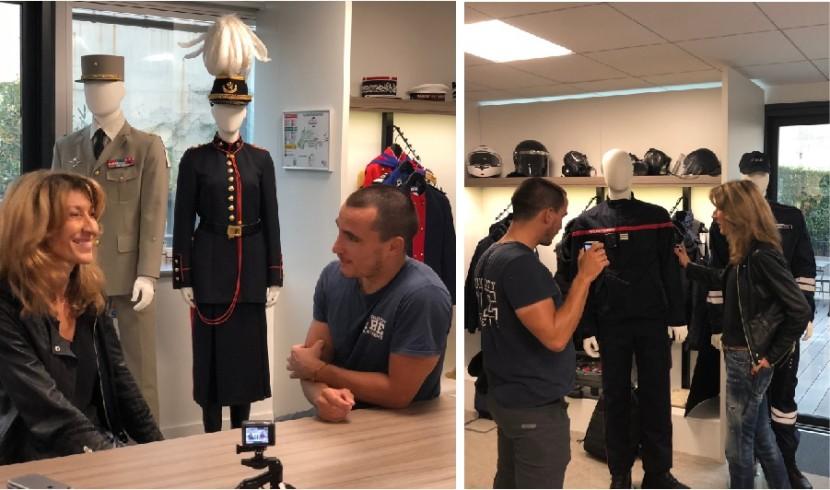 Photographie du youtubeur Vincent Firelife en reportage chez le Groupe Marck.