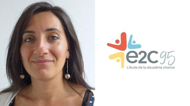 Visuel du témoignage de Marine Baudoin de l'École de la Deuxième Chance..